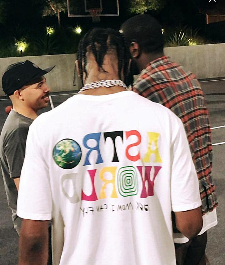 travis scott astroworld t shirt concert rap