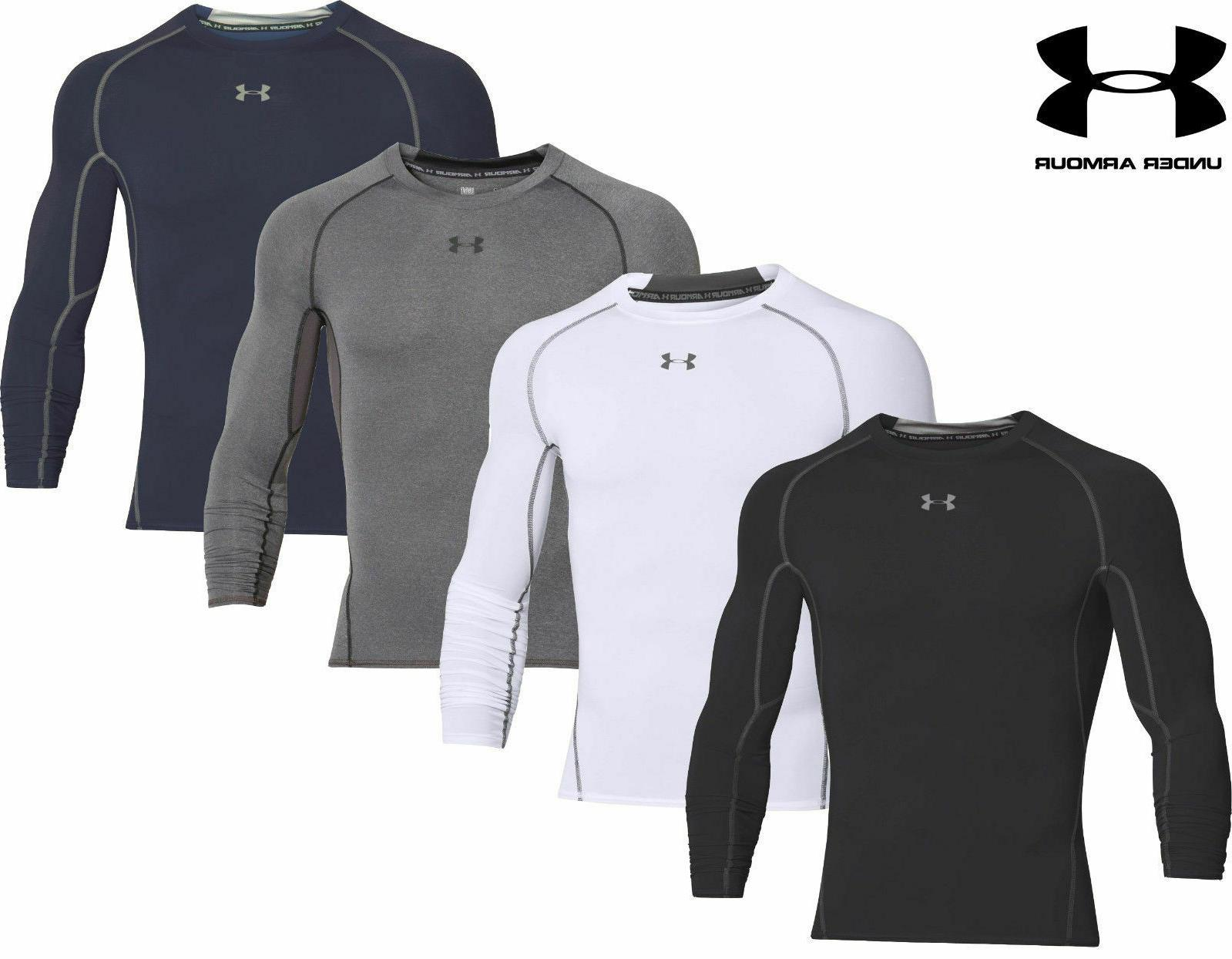 ua men s heatgear compression shirt free