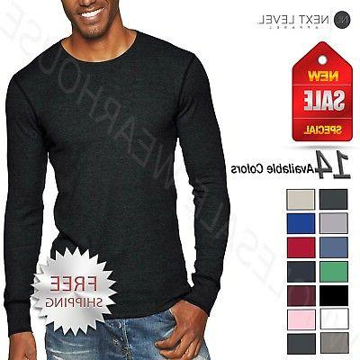 unisex thermal premium fit long sleeve xs