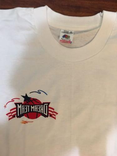 Vintage Vtg 1996 Dream Team Post Promotional T Shirt XL