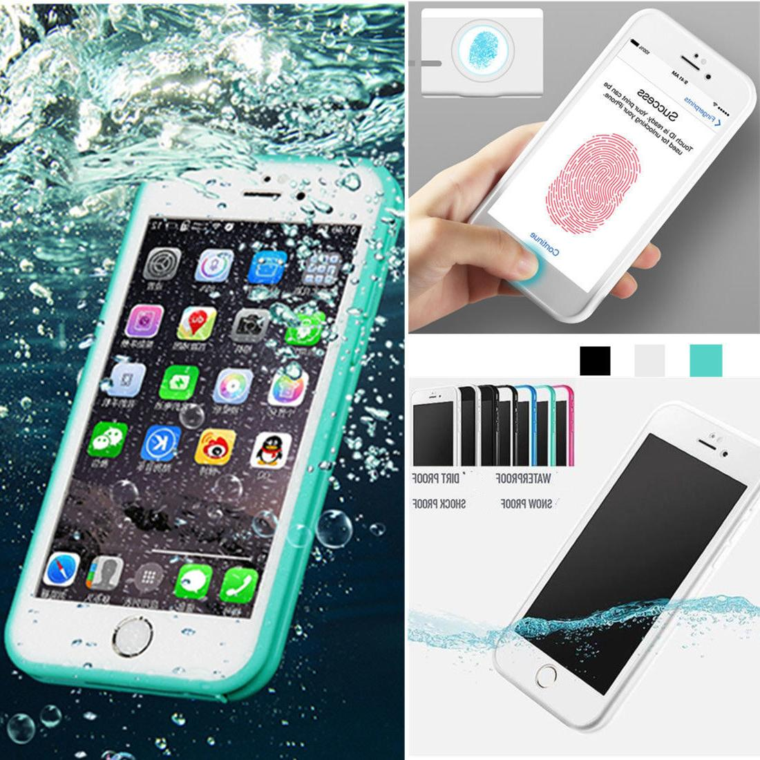 Waterproof Shockproof Dirt Proof TPU Case Cover For iPhone X