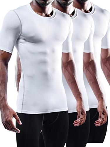 workout athletic compression shirts