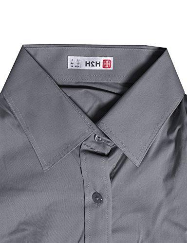 H2H Slim Fit with Solid Long M