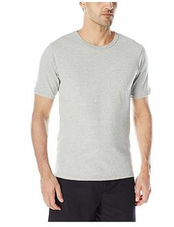 Champion LIFE Men's Heritage Tee Shirt, Oxford Gray, X-Large