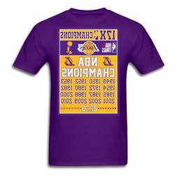 Los Angeles Lakers 2020 17 Time NBA Finals Champions T-Shirt