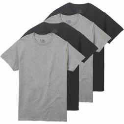 Fruit of the Loom Men's 4 Pack Color Crew T-shirt Size 3XL