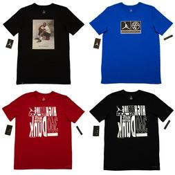 Men Nike Air JORDAN Crew Neck T Shirt Graphic Logo Tee S M L