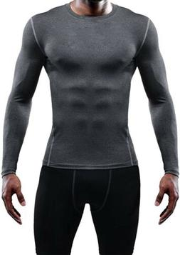 men s athletic compression sport running long