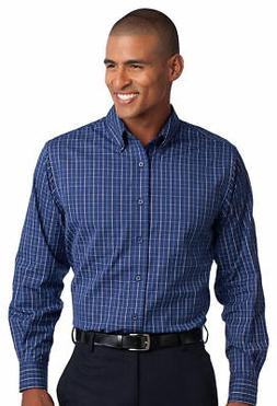 Port Authority Men's Big & Tall Button Down Patch Pocket Shi