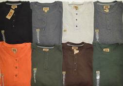 Men's Foundry Big & Tall Long Sleeve Henley Thermal Shirt