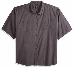 Dickies Men's Big & Tall Short Sleeve Shirt Relaxed Fit Soli
