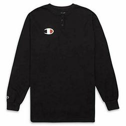 Champion Men's Big and Tall Thermal Long Sleeve Waffle Knit
