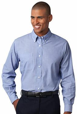 Port Authority Men's Big & Tall Wrinkle Resist Button Down D