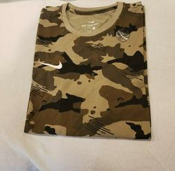 Men's Nike Camo  T-Shirt Tee Size Large-XL