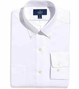 BUTTONED DOWN Men's Classic Fit Button-Collar Solid Non-Iron