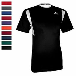 adidas Men's CLIMALITE Utility Short Sleeve Shirt Athletic R