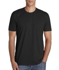 Next Level Men's CVC Crew Short Sleeve Solid Cotton/Poly T-S