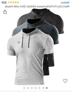 men s dry fit performance athletic shirt