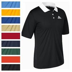 adidas Men's Game Built CLIMALITE Polo Athletic Coaching Cas