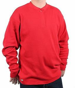 Case IH Men's Heavy Cotton-Blend Thermal Henley Shirt
