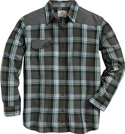 Legendary Whitetails Men's Midnight Chalet Flannel Charcoal