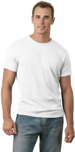 Hanes Men's Nano Tee with Tearaway Label Large 42 - 44 White
