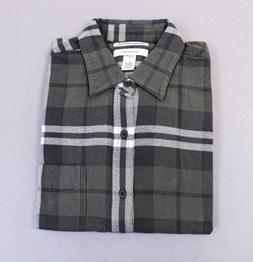 Amazon Essentials Men's Regular-Fit L/S Plaid Flannel Shirt