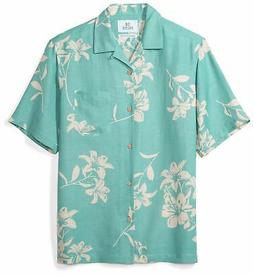 28 Palms Men's Relaxed-Fit Silk/Linen Tropical Haw - Choose
