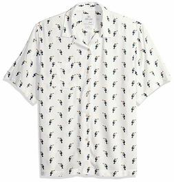 28 Palms Men's Relaxed-Fit Vintage Washed 100% Rayon Tropica