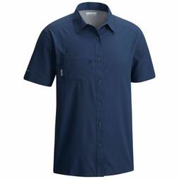 Men's Columbia Slack Tide PFG S/S Camp Shirt NEW Dark Mounta
