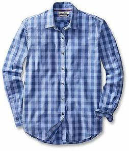 Goodthreads Men's Standard-Fit Long-Sleeve L-Scale Check Shi