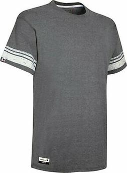 Champion Men's T-Shirt Originals Triblend Varsity Tee Short