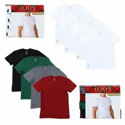 Polo Ralph Lauren Mens 4 Pack Classic Crew Neck Undershirts