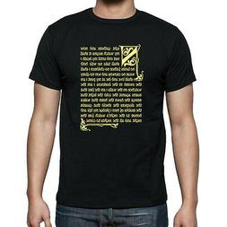 Mens and Womens GAME Of THRONES NIGHTS WATCH OATH  T-Shirt .