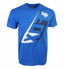 mens blue t shirt cross logo