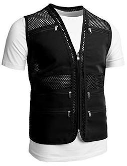 H2H Mens Casual Mesh Vest Shirt - 2XL US - 3XL ASIA
