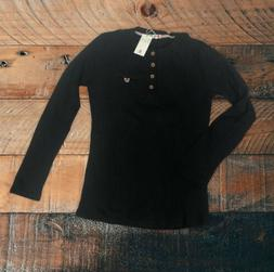H2H Mens Casual Slim Fit Henley Waffle Knit Long Sleeve Shir