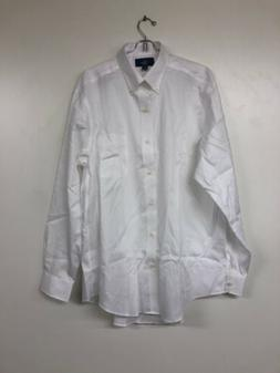 BUTTONED DOWN mens Classic Fit Button- Collar Non-Iron Dress