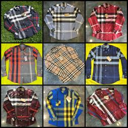 BURBERRY LONDON MENS COTTON BUTTON SHIRTS