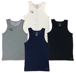 Nike Mens Dri-Fit Elite Stripe Basketball Tank Top Shirt Gre