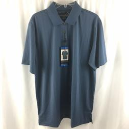 Pebble Beach Mens Dry Luxe Performance Golf Polo Shirt Size