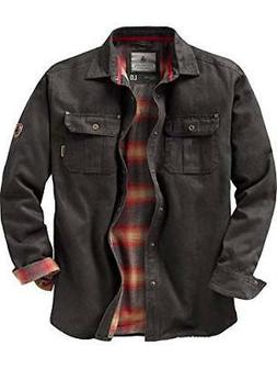 mens journeyman shirt jacket tarmac medium