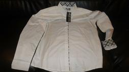Toms Ware mens long sleeve Dress shirt- New with Tags 2xl