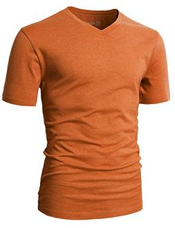 H2H Mens Men's ComfortSoft T-Shirt Orange US M/Asia L