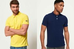 Mens Superdry Polo Shirts Selection - Various Styles & Colou