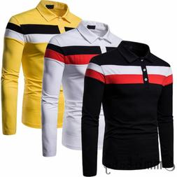 mens polo t shirt long sleeve modal