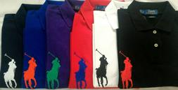 Mens RALPH LAUREN   BIG  PONY  SHORT SLEEVE CUSTOM SLIM FIT