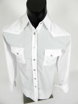 mens rodeo snap up shirt western style