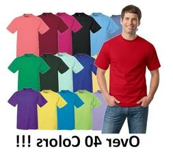 Hanes Mens Short Sleeve Tees Tops Tagless 100% cotton T-Shir