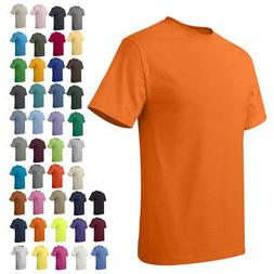 Hanes Mens Short Sleeve Tees Tops Tagless T-Shirt 5250